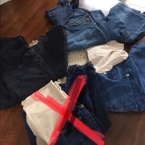 Pants - Maternity jeans (3 pairs)